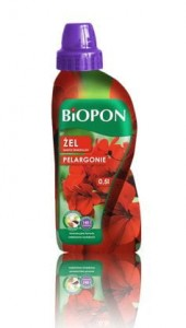 Nawóz w żelu do pelargonii BIOPON 1L