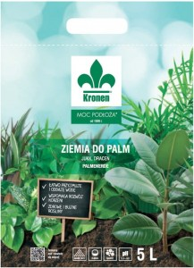 Ziemia do palm, juk, dracen KRONEN 5L